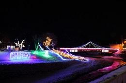 Shingo Village White Illumination しんごうホワイトイルミネーション 新郷村