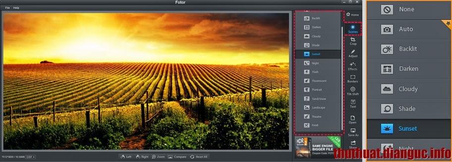 Phần mềm ghép ảnh đẹp, chỉnh sửa ảnh miễn phí tốt nhất – Fotor
