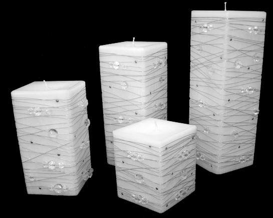Telares colombianos velas - Velas decorativas ...