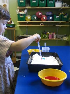 actividades preescolar pintura