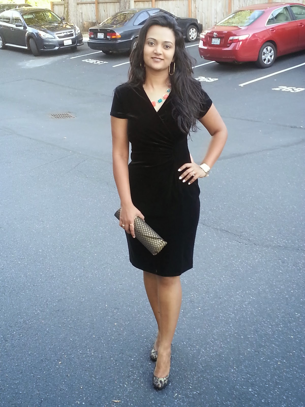 Black Velvet dress, classy black dress, lady like dress, elegant dress for indian women, famous indian fashion blogger,