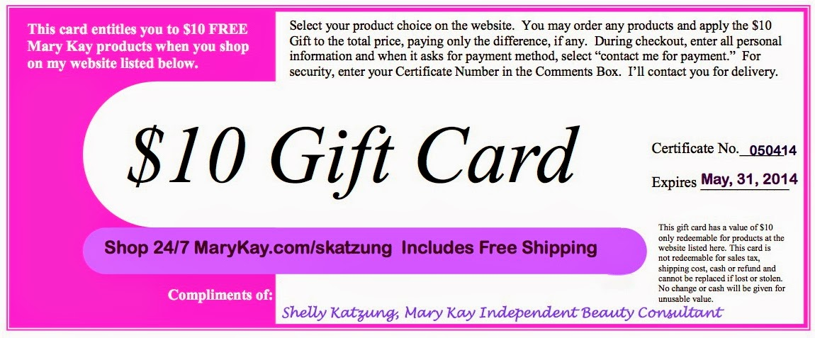Accentuate 'n Ink: $10 Mary Kay Gift Card for Online Shopping: accentuate-n-ink.blogspot.com/2014/05/10-mary-kay-gift-card-for...
