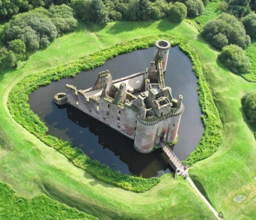 Caerlaverock Castle, Dumfries (Scozia, Regno Unito)