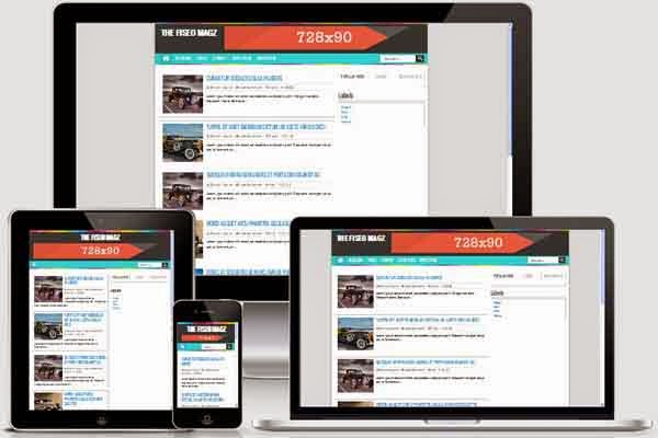 The FiSEO Magz Responsive + Valid HTML5, CSS 3 dan SEO