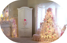 My Shabby Pink Christmas Holiday Home Tour
