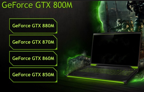 NVidia GeForce GTX 800M GPU