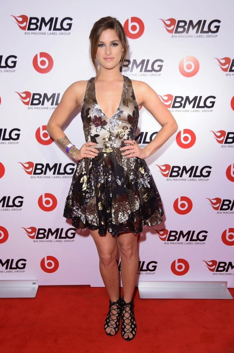 Cassadee Pope Steps Out in Style at Big Machine Label Group CMA Awards Event