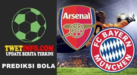 Prediksi Arsenal vs Bayern Munchen