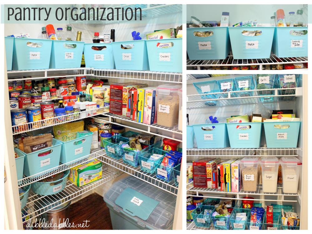 Dibble Dabbles Organization An Organized Pantry