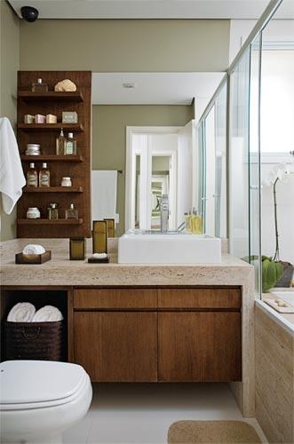 Dicas de Armários para banheiro  Móveis planejados -> Armario De Banheiro Planejado Grande