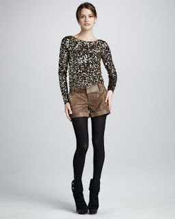 Alice + Olivia Pixie Sequined Top
