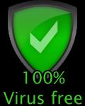 %100 Virus Free