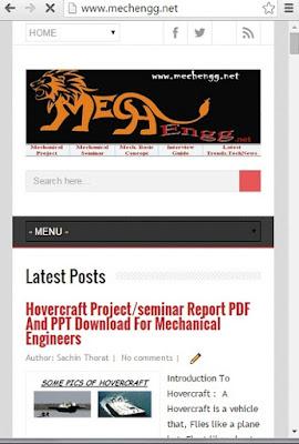 www.mechengg.net screenshot