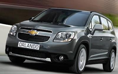 Harga Chevrolet Orlando 2014 Kredit dan Spesifikasi