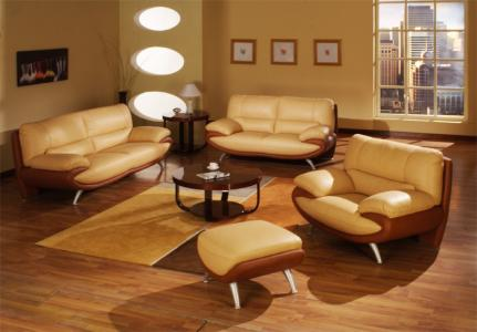 living room furniture modern yellow