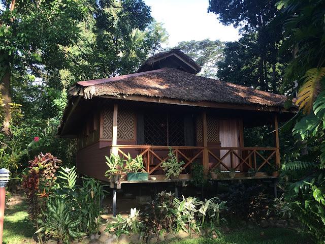 Our bungalow at Walindi Plantation Resort, Papua New Guinea