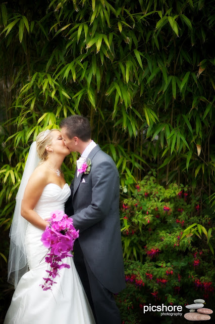 Bedruthan Steps hotel cornwall wedding Picshore Photography