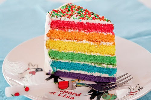 Resep Cara Membuat Rainbow Cake Lembut Enak
