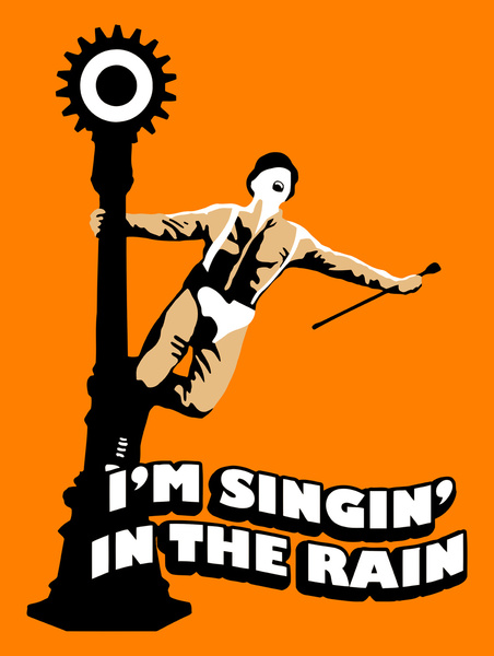 A Clockwork Orange Singing In  A Clockwork Orange Singing In The Rain