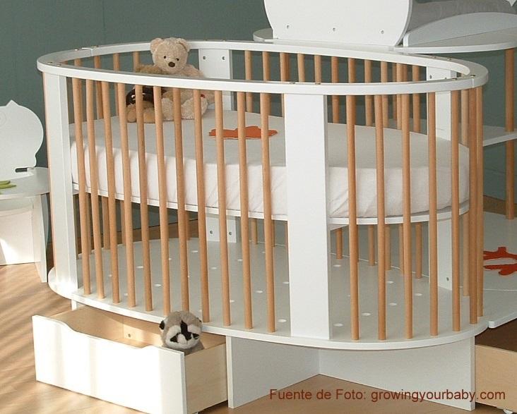 Excepcional Muebles Cunas Circulares Imágenes - Muebles Para Ideas ...
