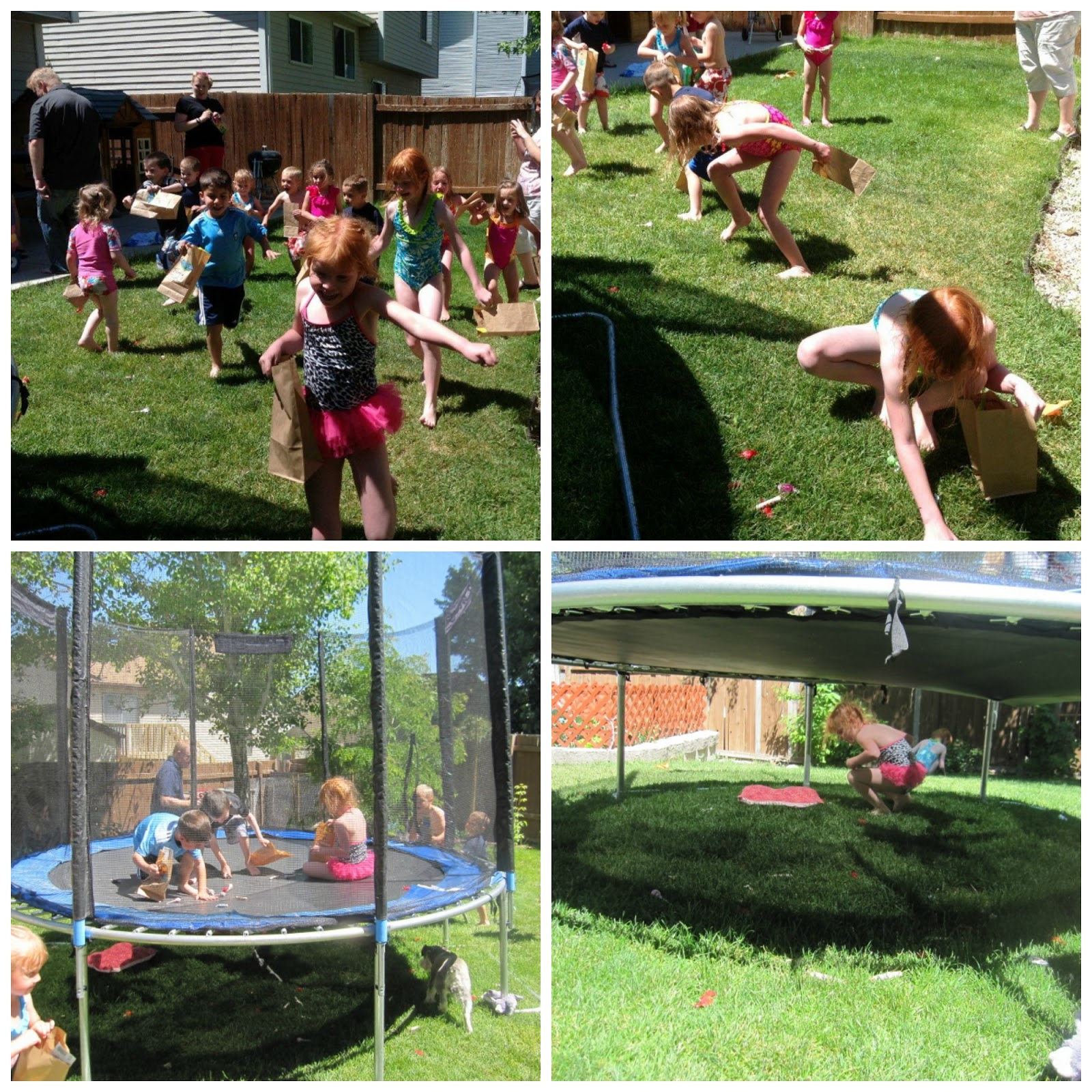 The Beating Hearth: Girl Ninja Turtle Party...The Games