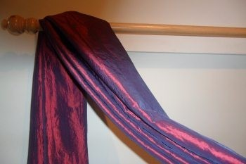 the second great way to hang your scarf swag curtains