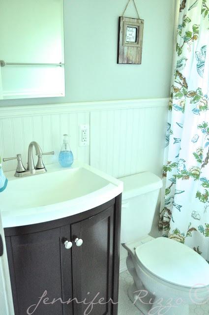 The Oak house project full bathroom renovation with beadboard wainscotting