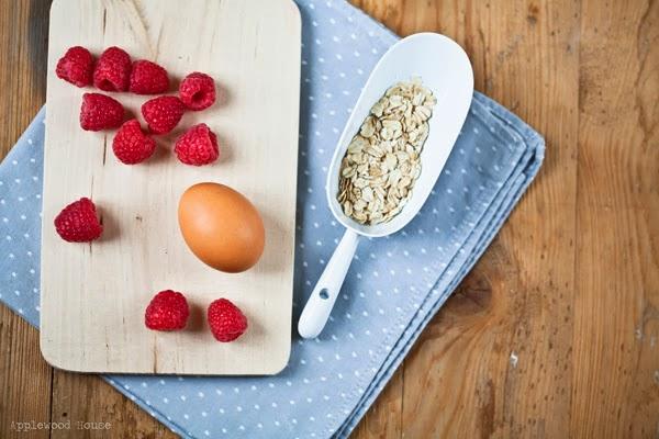 Zutaten Frühstück Muffin Rezept Gesund und lecker