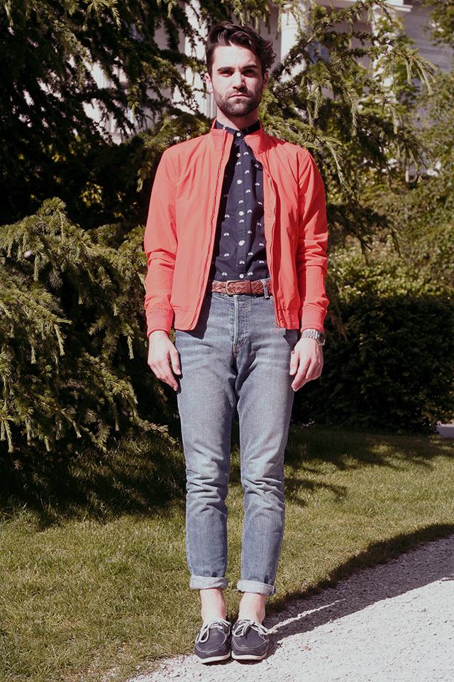 parc monrepos Lausanne retro outfit smira-fashion Stéphane Mirao suisse mode suisse