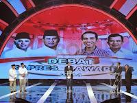 Heboh: 2 Hal Aneh yang Dilakukan Prabowo Saat Debat Capres Jilid 2