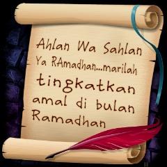 ahlan, wasahlan, ramadhan, semoga, ibadata, diterima, Allah, nasihat, islamik