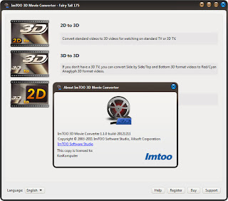 ImTOO 3D Movie Converter 1.1.0 Build 20121211 Incl Patch