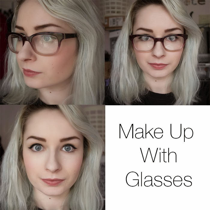 cruelty free make up tutorial for glasses wearers