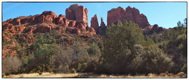 Sedona's Baldwin Trail offers spectacular views of Cathedral Rock.