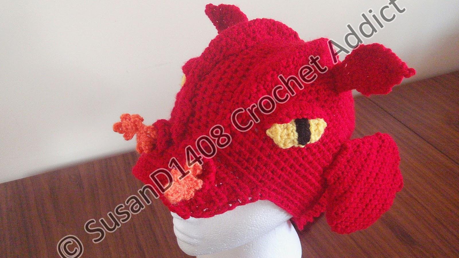 Crochet Dragon Hat - Viewing Gallery