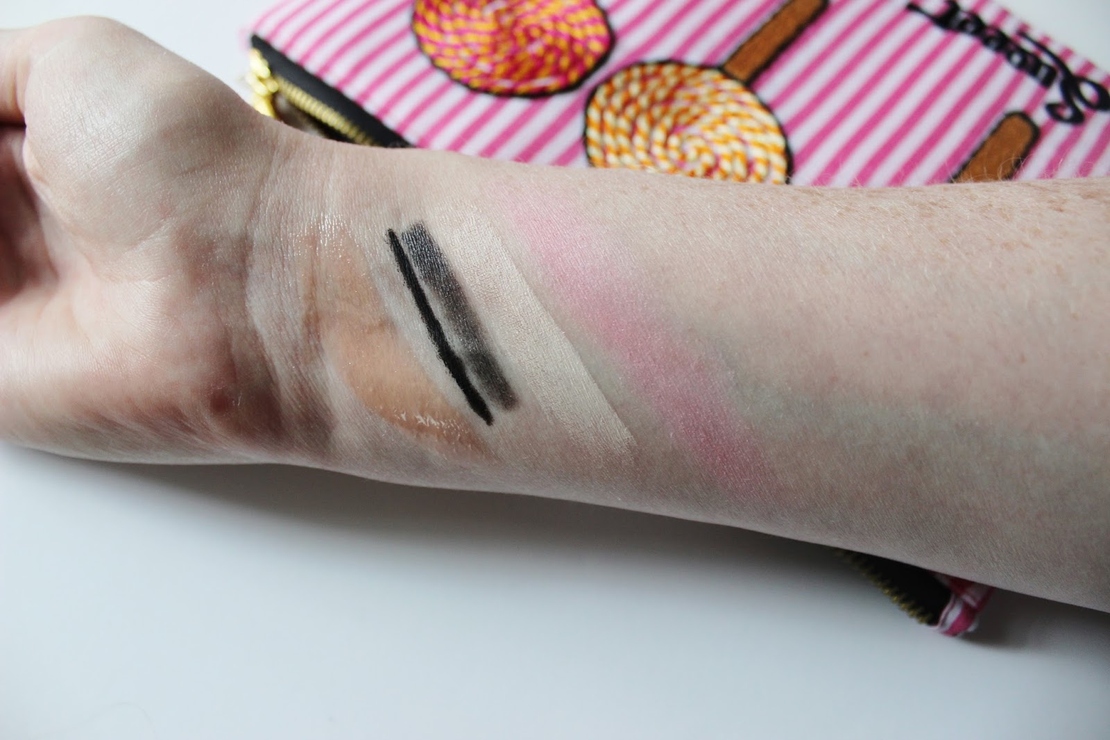 Surratt makeup swatches