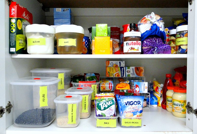 Como arrumar armario de mantimentos design de uma - Como organizar armarios ...