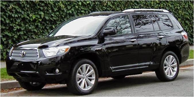 Cho thuê xe 7 chỗ Toyota Highlander VIP 1