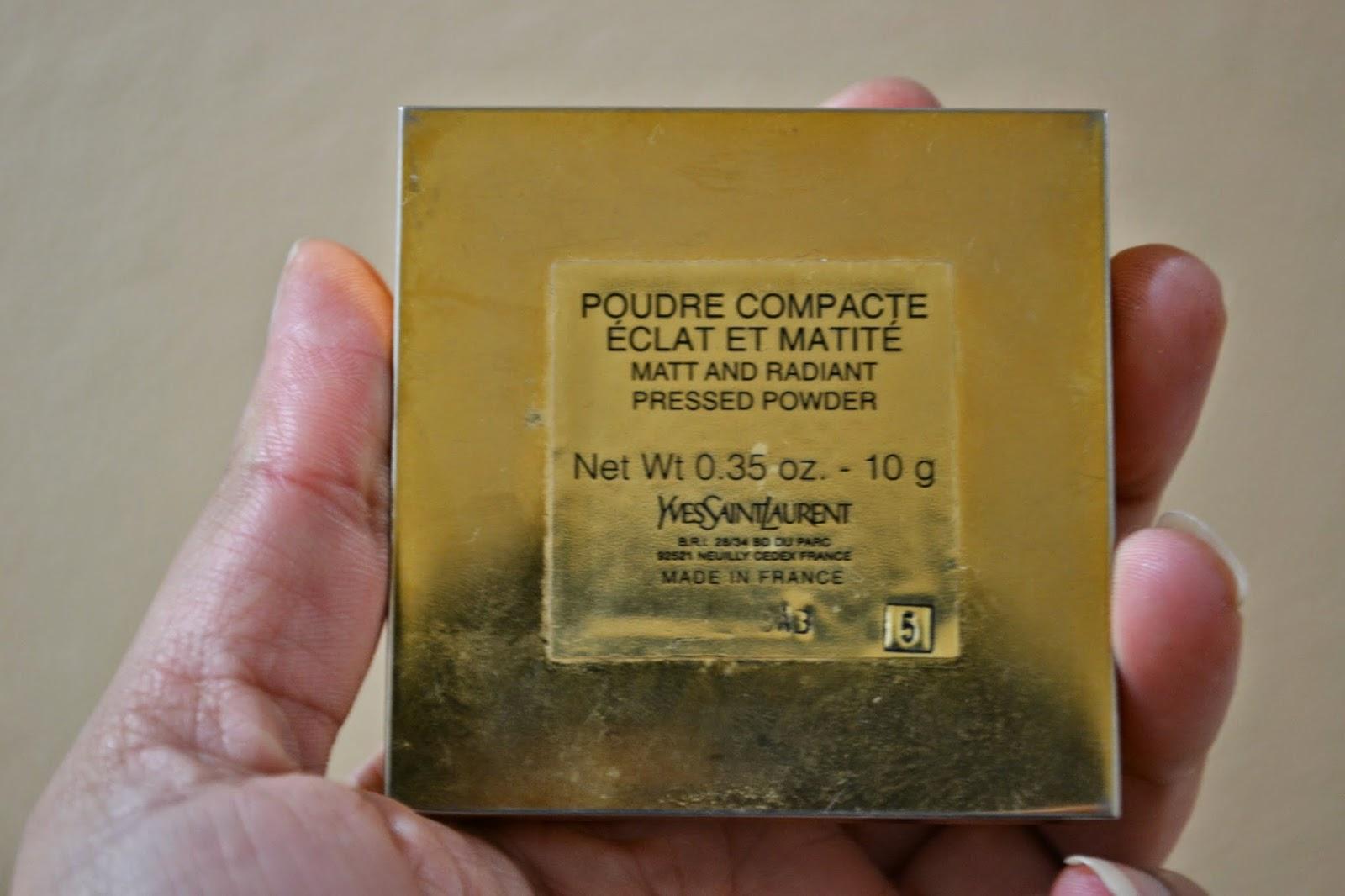 YSL Matt & Radiant Pressed Powder