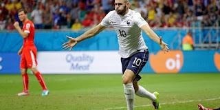Suisse 2 - 5 France