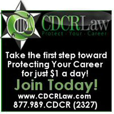 """Let a former OIG/BIR attorney protect your CDCR career for less than $1 a day"""