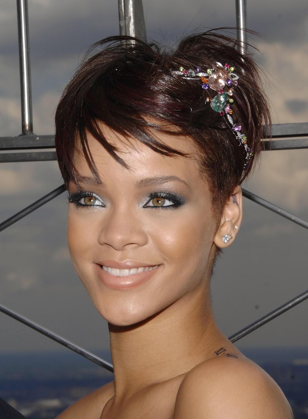 Peinados Rihanna Pelo Corto - Melenas XXS peinados para pelo corto Enfemenino