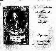 Catálogo do Prínc. D. José