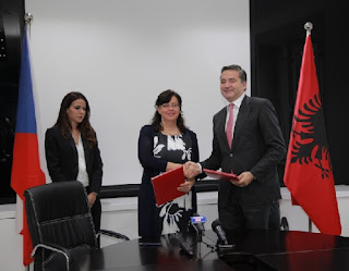 Shqipëria dhe Çekia bashkëpunim në arsimin profesional dhe pensionet