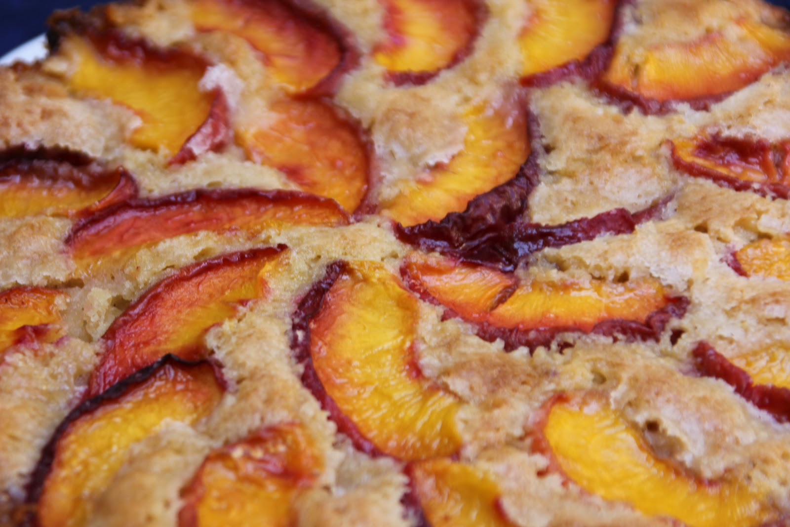 handmade&homemade: Summer Peach Cake