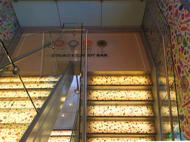 Stairs at Dylan's Candy Bar | NYC | Chichi Mary Blog