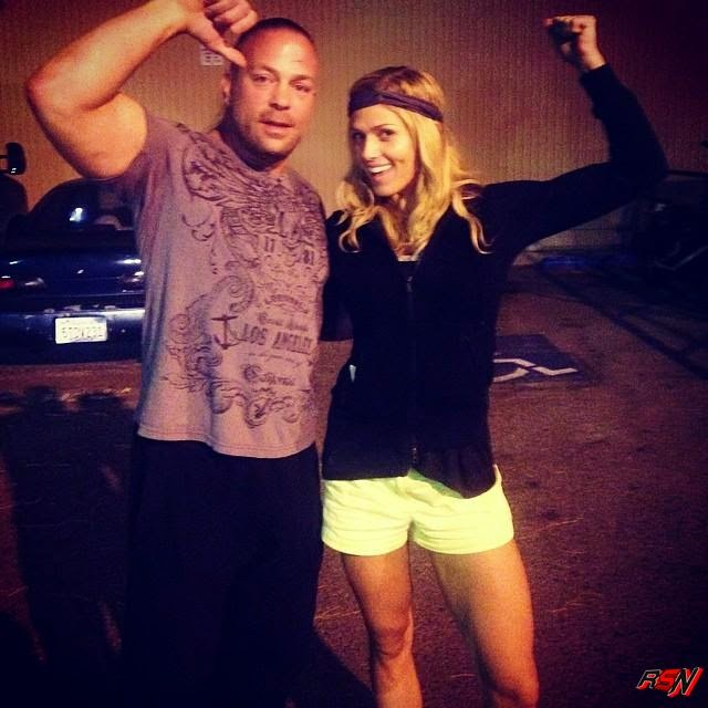 RVD and Torrie Wilson Hanging Out.