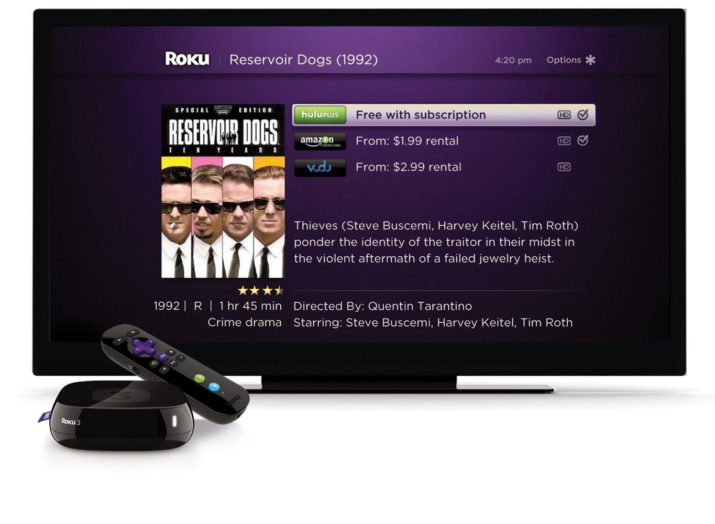 Roku 3 Streaming Media Player Reviews