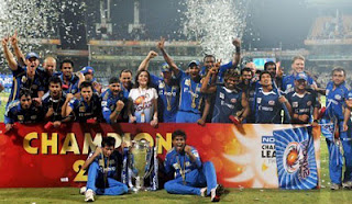 Mumbai are the 2011 CLT20 champions!