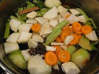 Овощной бульон (заготовка впрок)